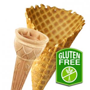 Gluten-free wafers